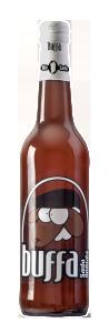 Bottiglia di Birra Buffa Ambrata, la birra divertente